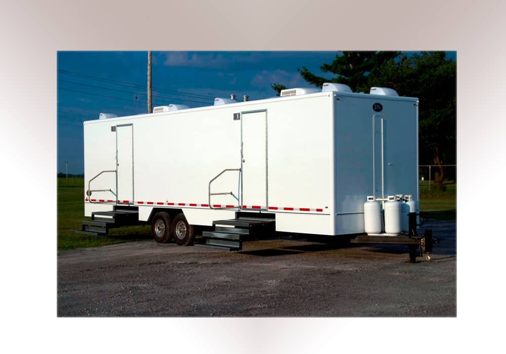 The Portable Shower Trailer 8 And 10 Stall
